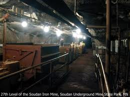 SoudanMine27thLevel near Ely MN before Fire of 2011