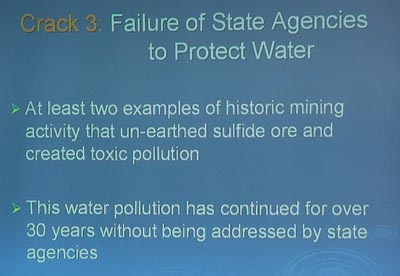 Water has not been protected by Minnesota Regulators