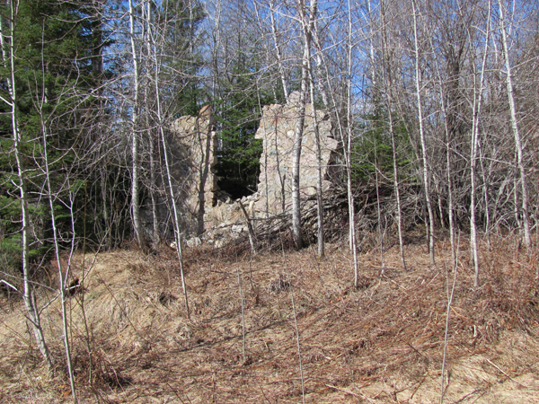 The Last Wall of Zenith Sibly Savoy Mine's Dynamite Shack
