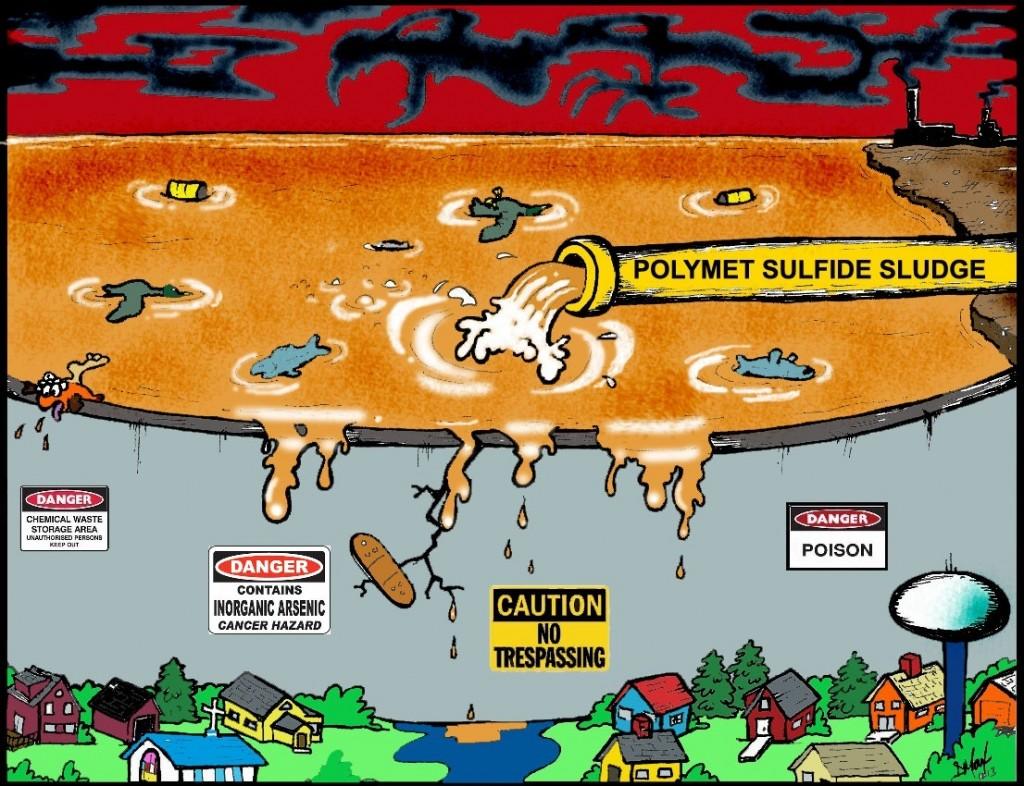 Polymet Eathen Dam Problem